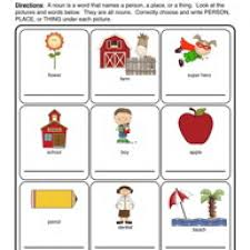 noun worksheet kindergarten u0026 jolly grammar activities and