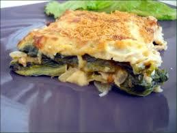 salade verte cuite recette cuisine lasagnes au tofu et à la salade cuite végécarib