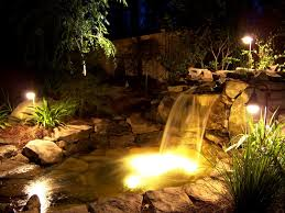 Underwater Landscape Lighting by Water Features