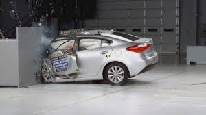 terrifying car crashes crash test revealed by insurance