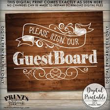 guestboard sign wedding board please sign our guest board