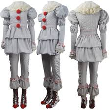 stephen king u0027s it 2017 film evil clown pennywise cosplay halloween