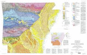 map of arkansas geologic map of arkansas ngmdb data gov