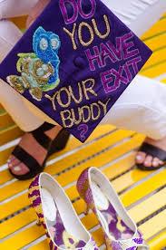 cap and gown decorations 418 best graduation cap decorations images on