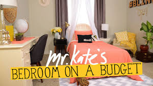 diy home decor ideas on a budget bedroom on a budget diy home decor mr kate youtube