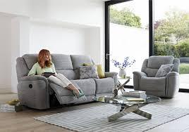 Fabric Sofa Recliners by Sheridan 2 Seater Fabric Recliner Sofa Furniture Village