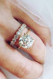 Engagement Ring And Wedding Band by 1183 Best Wedding Rings U0026 Bands Images On Pinterest Rings