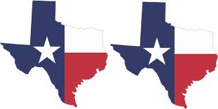 Texas State Flag Image 4in X 4in Baylor University Die Cut Texas Flag Bumper Sticker
