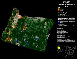 California Wildfire Database by Wui Maps Wildfire Risk In The Wildland Urban Interface Ecowest