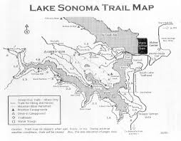How To Read A Topographic Map Lake Sonoma
