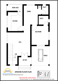 Impressive Design Ideas 1700 Sq 750 Sq Ft House Plans In Kerala 1 Homey Ideas 600 With Elevation
