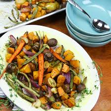 Fall Root Vegetables - roasted fall vegetables colorful recipes