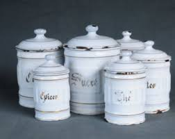 ceramic kitchen canisters sets kitchen canisters etsy