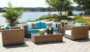 wicker patio furniture sets outdoor gramercy 4 piace outdoor