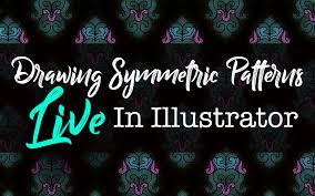 pattern drawing illustrator drawing symmetric patterns live in illustrator melissa wiederrecht