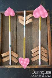 simple valentines day arrow craft u2022 our house now a home