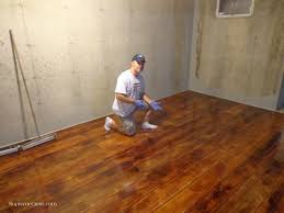 concrete basement floor ideas stained scored floor site