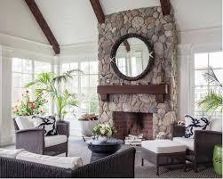 sunroom with a stone fireplace ideas u0026 design photos houzz
