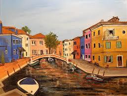 Burano Italy Italy Painting By Marcia Crispino
