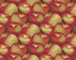 Apple Curtains For Kitchen by Apples Curtain Etsy