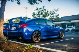 blue subaru gold rims 2015 wrx sti aftermarket wheel and tire fitment page 20 nasioc