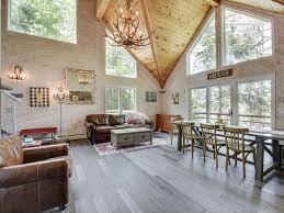 luxury modern cabin on deer lake vrbo