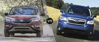 subaru forester 2016 honda cr v vs 2016 subaru forester
