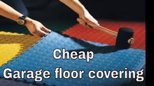 Cheap Floor Covering Cheap Garage Floor Covering Youtube