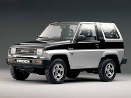 daihatsu rocky daihatsu feroza 1 6 mt 4wd specifications and technical data