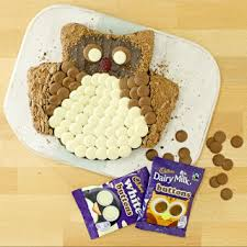 owl cake delicious cadbury dairy milk buttons owl cake cadbury co uk