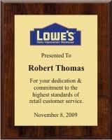 retirement plaque certificate plaques