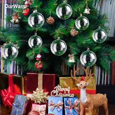 collection clear acrylic christmas balls pictures christmas tree