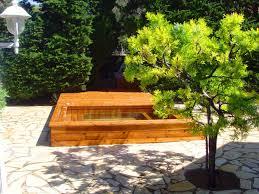 jacuzzi bois exterieur pour terrasse piscine semi interieur exterieur trendy le prix duune piscine