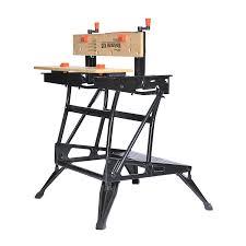 Bench Centers Black U0026 Decker Wm425 A Portable 550 Pound Project Center And Vise