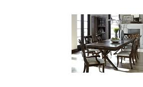 baker street dining table baker street expandable dining trestle table furniture macy s