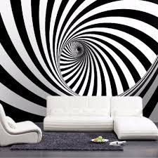 Livingroom Wallpaper Online Get Cheap Black White Abstract Wallpaper Aliexpress Com