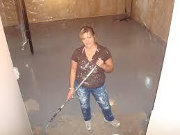 clean concrete basement floor basements ideas