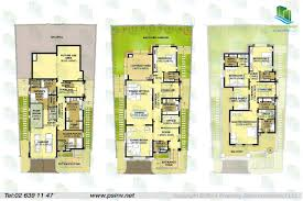 lovely modern townhouse floor plans 5 4 bedroom villa type 20 1