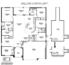 willow ii with loft highland homes florida home builder