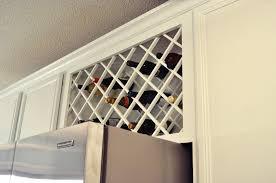 kitchen cabinet wine rack ideas wine rack kitchen cabinet island designs ideas indoor outdoor