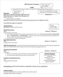Business Resumes Templates Basic Business Resume Templates 24 Free Word Pdf Documents