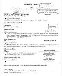 basic business resume templates 24 free word pdf documents