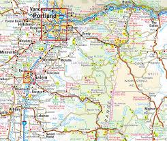 atlas road map american highway road atlas large format