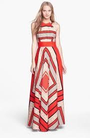 eliza j dresses eliza j scarf print chiffon halter maxi dress size 12 ebay