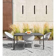 Modern Aluminum Outdoor Furniture by Best 25 Modern Outdoor Dining Chairs Ideas On Pinterest Modern