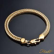 ladies gold bracelet pattern images Womens gold bracelets ebay JPG