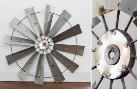 Design Ideas For Galvanized Ceiling Fan Homely Design Windmill Wall Plus Decor For Sale Decorative