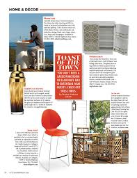 miami home and decor magazine barware to make you the toast of the town city u0026 shore magazine