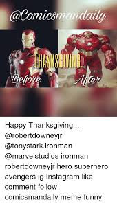 happy thanksgiving ironman robertdowneyjr