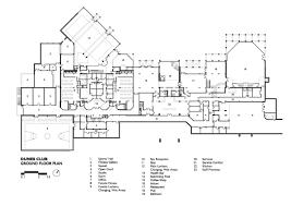 dunes club amman ground floor plan archnet